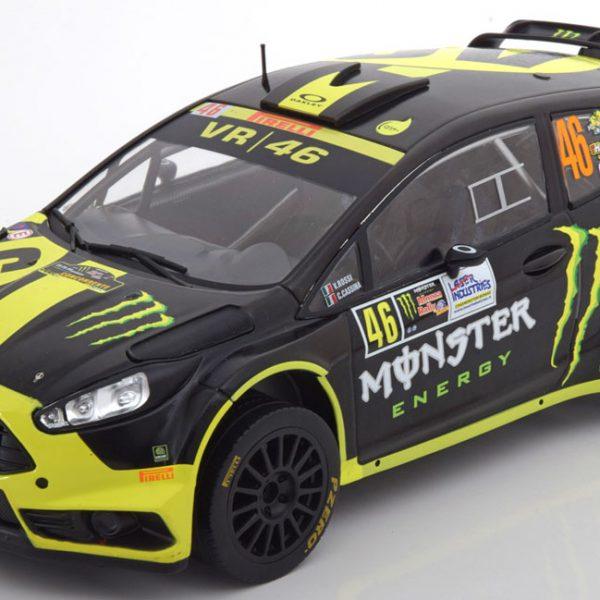 Ford Fiesta RS WRC No.46, Rally Monza 2014 Rossi/Cassina 1-18 Ixo Models