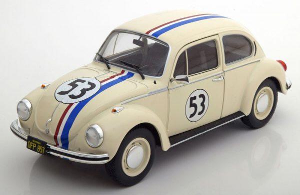 "Volkswagen Kever 1303 ""Herbie"" Créme 1:18 Solido"