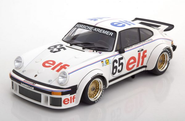 Porsche 934 No.65 24h Le Mans 1976 Wollek/Pironi/Beaumont 1:18 Minichamps Limited 336 pcs.