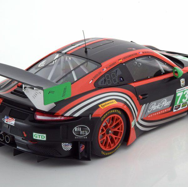 Porsche 911 (991) GT3 RNo.73, 24h Daytona 2017 Lindsey/Bergmeister/McMurry/Siedler 1-18 Minichamps Limited 300 Pieces