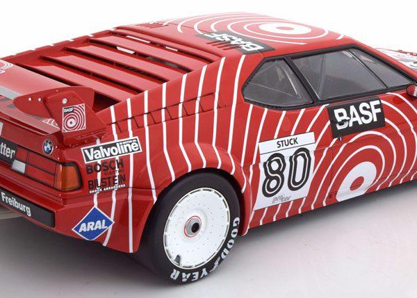 "BMW M1 Procar No.80, Procar Series 1980 ""BASF""Rood 1-12 Minichamps"