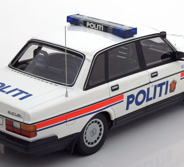 Volvo 240 GL Politi Norway 1986 Minichamps 1-18 Limited 300 Pieces