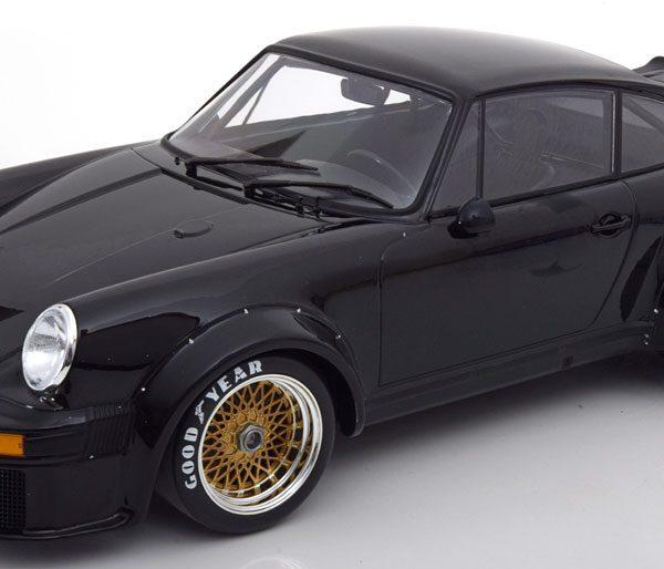 Porsche 934 1976 Zwart 1-12 Minichamps