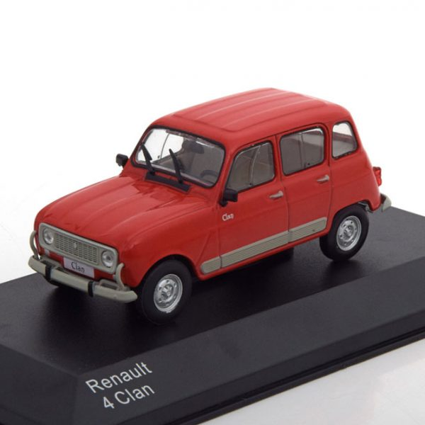 Renault 4 Clan 1989 Rood 1-43 Whitebox Limited 1000 Pieces