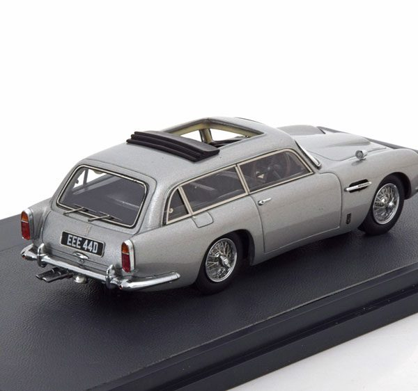 Aston Martin DB5 Shooting brake by Harold Radford Zilver 1964 Matrix Scale Models 1-43 Limited