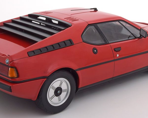 BMW M1 E26 Street 1978 Rood 1-12 KK Scale Limited 600 Pieces