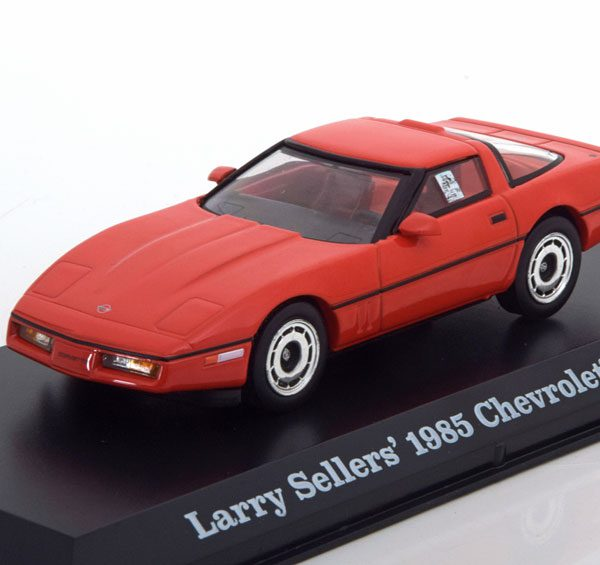"Chevrolet Corvette C4 Coupe ""The Big Lebowski"" Larry Seller 1985 Rood 1-43 Greenlight Collectibles"