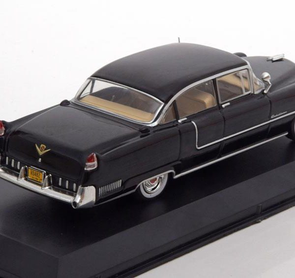 "Cadillac Fleetwood Series 60 ""The Godfather "" 1955 Zwart 1-43 Greenlight Collectibles"