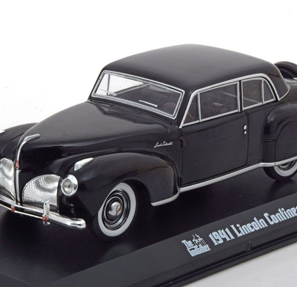 "Lincoln Continental ""The Godfather"" 1-43 Zwart Greenlight Collectibles"