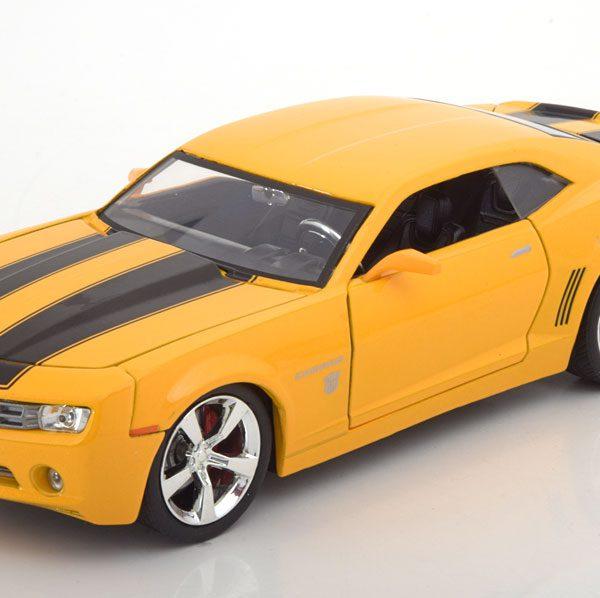 "Chevrolet Camaro ""Transformers Bumblebee""2006 Geel 1-24 Jadatoys"
