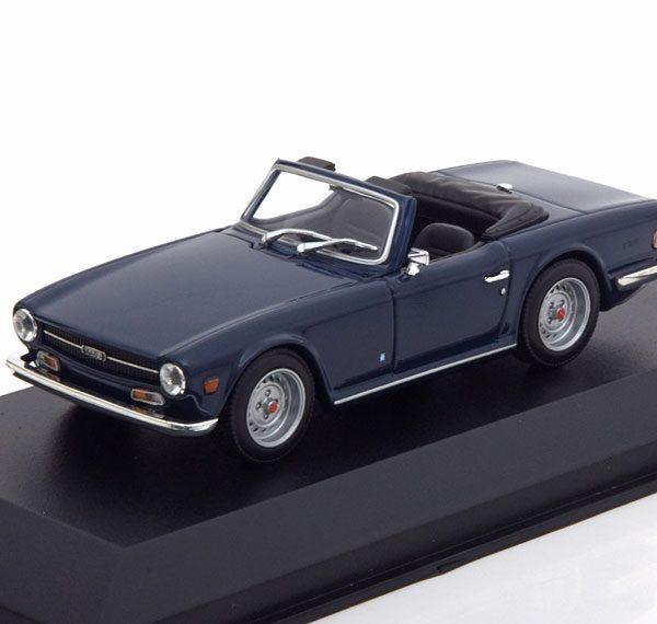 Triumph TR 6 1968 Blauw 1-43 Maxichamps