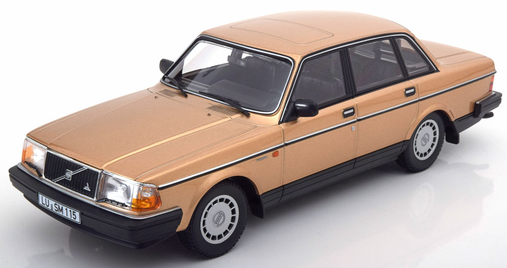 Volvo 240 GL 1986 Goud 1-18 Minichamps Limited 504 Pieces