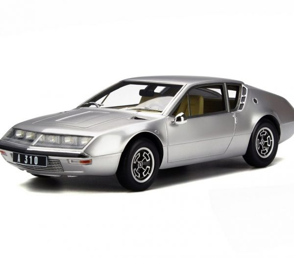 Renault Alpine A310 1600 Phase I 1971 Zilver 1-18 Ottomobile Limited 999 Pieces