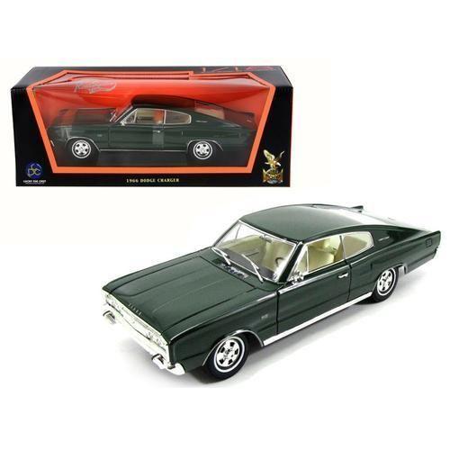 Dodge Charger 1966 Zwart 1:18 Yatming Lucky Diecast
