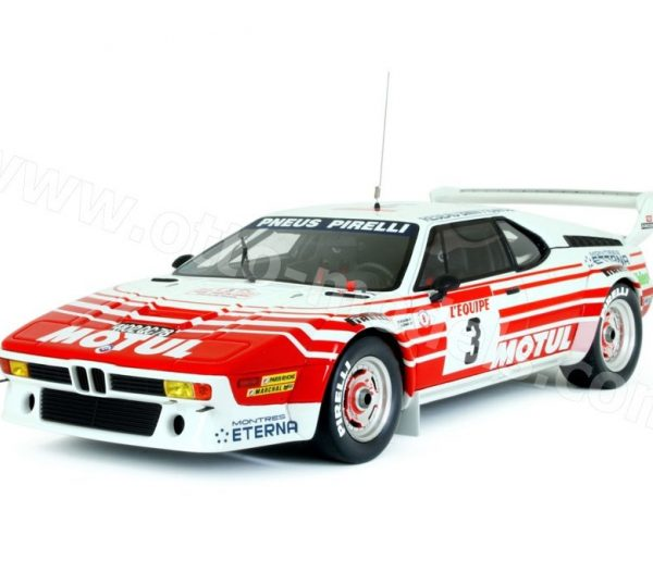BMW M1 Groupe B Tour de Corse 1983 Bernard Béguin 1-18 Ottomobile Limited 3000 Pieces