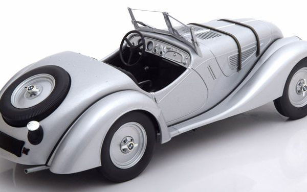 BMW 328 1:18 Zilver Minichamps Limited 504 pcs.