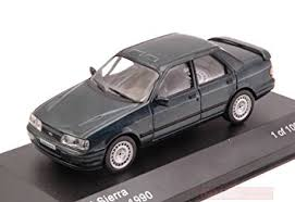 Ford Sierra RS Cosworth 1990 Donkergrijs Metallic 1-43 Whitebox Limited 1000 Pieces