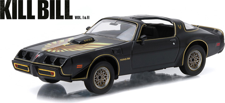 Pontiac Firebird Trans Am *Kill Bill vol.2 (2004)* In Original Kill Bill 1979 1:43 Greenlight Collectibles