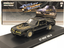 "Pontiac Trans Am 1977 ""Smokey and the Bandit' Zwart 1:43 Greenlight Collectibles"