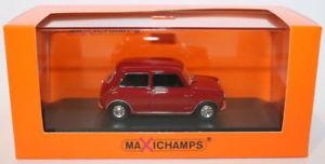Morris Mini 850 MK I 1960 Rood 1-43 Maxichamps