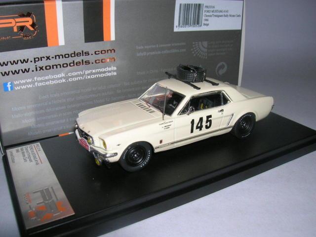Ford Mustang Nr# 145 Rally Monte Carlo 1966 Chemin / Trintignant 1-43 PremiumX