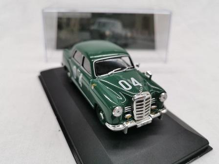 Mercedes-Benz 180D Mille Miglia 1955 #04 Groen 1:43 Altaya Mercedes Collection