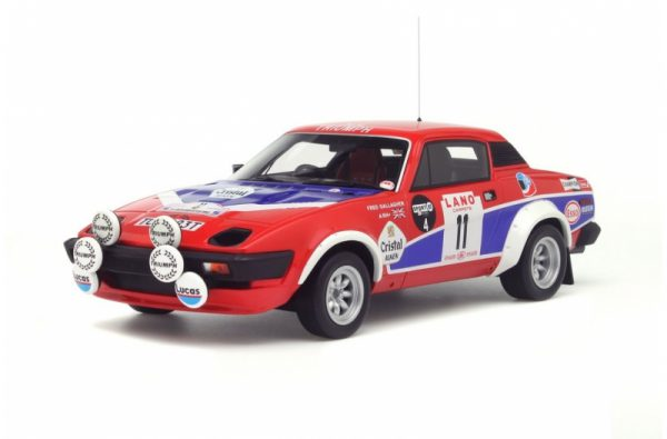 "Triumph TR7 V8 Groupe 4 ""24 Hours of Ypres in 1980"" 1-18 Ottomobile Limited 1500 Pieces"