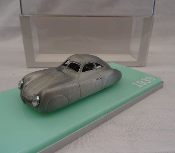 Porsche Type 64 Grijs 1:43 True Scale models