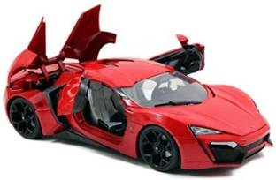 """Lykan Hypersport Rood """"The Fast And The Furious""""1-24 Jada Toys"""