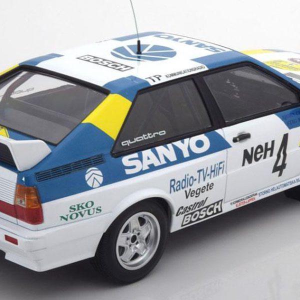 Audi Quattro #4 Winner Rally Zweden 1982 Blomqvist/Cederberg 1-18 Minichamps Limited 350 pcs.