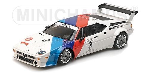 BMW M1 Procar BMW Motorsport Procar Series 1979 Didier Pironi 1-12 Minichamps