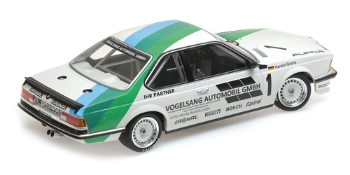 BMW 635 CSi Vogelsang Automobile GMBH Winner Bergischer Lowe Zolder 1984 Minichamps 1-18 Limited 300 Pieces