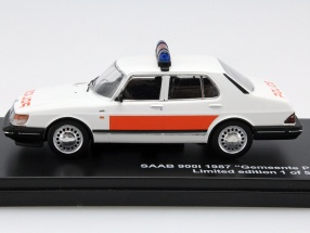 Saab 900i 1987 Gemeente Poltie 1:43 Triple 9 Collection Limited 504 pcs.