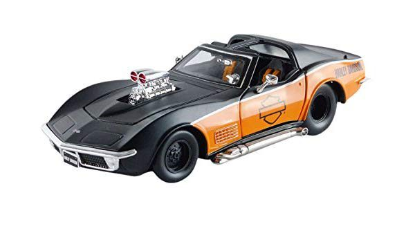 "Chevrolet Corvette 1970 ""Harley Davidson""1-24 Maisto"