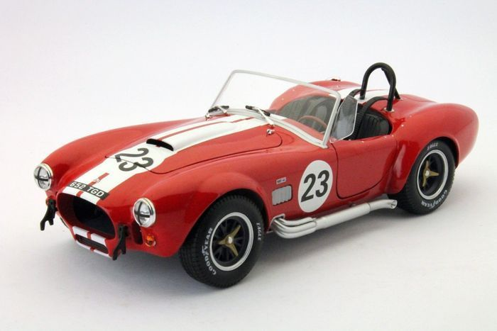 Shelby Cobra 427 1965 Nr# 23 Rood Solido 1-18