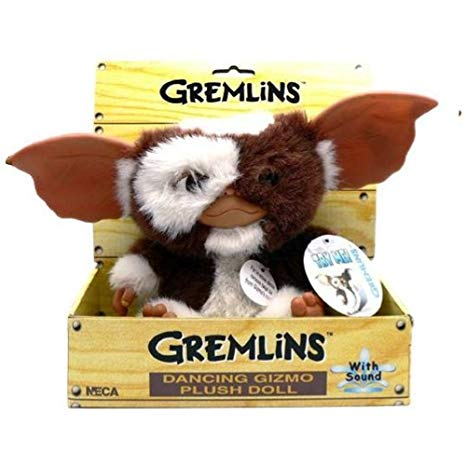 Gremlins Gizmo Dancing Plush with Sound - 8 Inch/20 cm - Neca