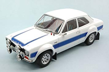 Ford Escort RS2000 1:18 Wit Triple 9