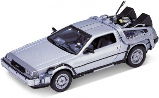 DeLorean Back to the Future I 1:24 Welly