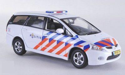 Mitsubishi Grandis Nederland Politie 1:43 Vitesse Limited 999 pcs.
