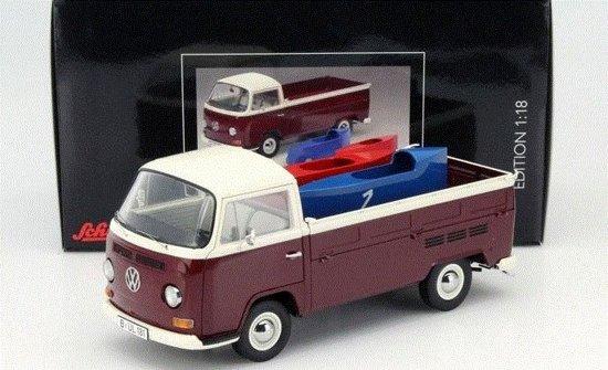 Volkswagen T2A Pritsche met Zeepkisten 1:18 Premium Classixxs
