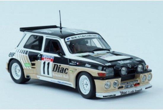 Renault 5 Maxi Turbo #11 1985 Bruin 1/18 Solido