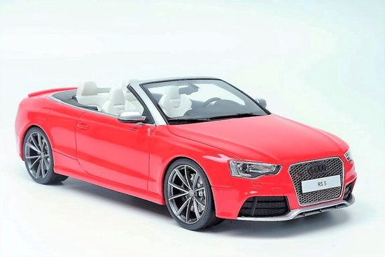 Audi RS5 Cabriolet 2012 Rood 1:18 GT Spirit Limited 300 Pieces