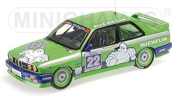 BMW M3 Team Alpina C. Danner double winner Hockenheim DTM 1988 1:18 Minichamps