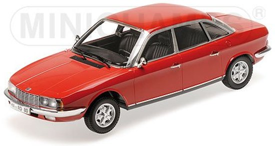 NSU Ro80 Rood 1-18 Minichamps Limited 750 Pieces