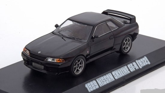 "Nissan Skyline GT-R (R32) ""Fast and Furious 7' 2015 Zwart 1-43 Greenlight Collectibles"