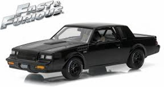"Buick Grand National GNX 1987 Dom's Zwart ""Fast And Furious: 1-43 Greenlight Collectibles"