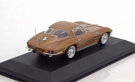 Chevrolet Corvette C2 1963 Brons Metallic 1-43 Whitebox Limited 1000 Pieces