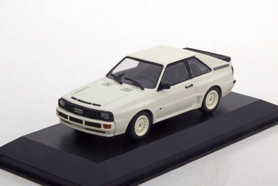 Audi Sport Quattro 1984 Wit 1-43 Maxichamps