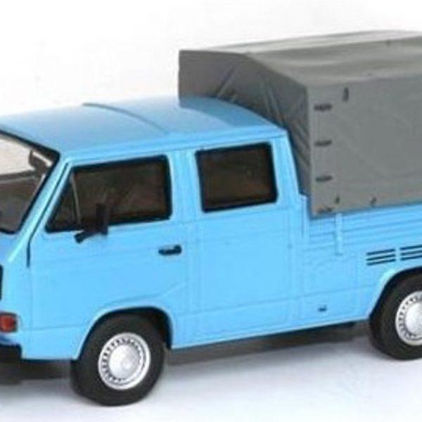 Volkswagen T3A Dubbel Cabine Blauw 1-43 Premium Classixxs Limited 750 pcs.