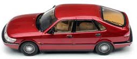 Saab 900 V6 1994 Bordeaux Rood Metallic 1-43 PremiumX